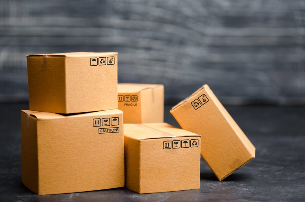 An image of boxes